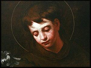 Young Anthony of Padua