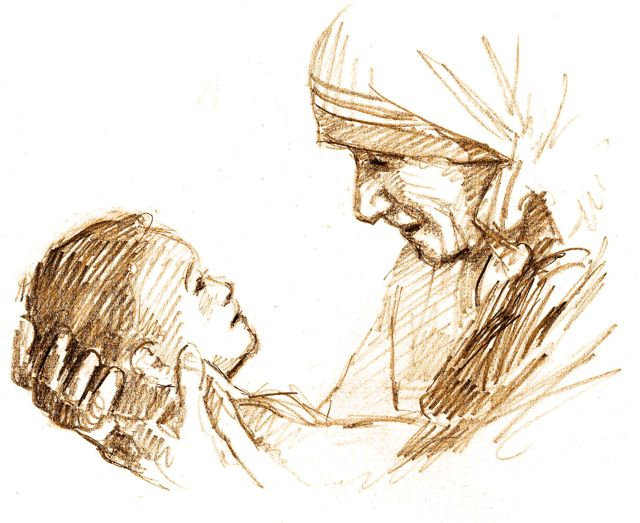 Mother_Teresa_Drawing_Jon_McNaughton
